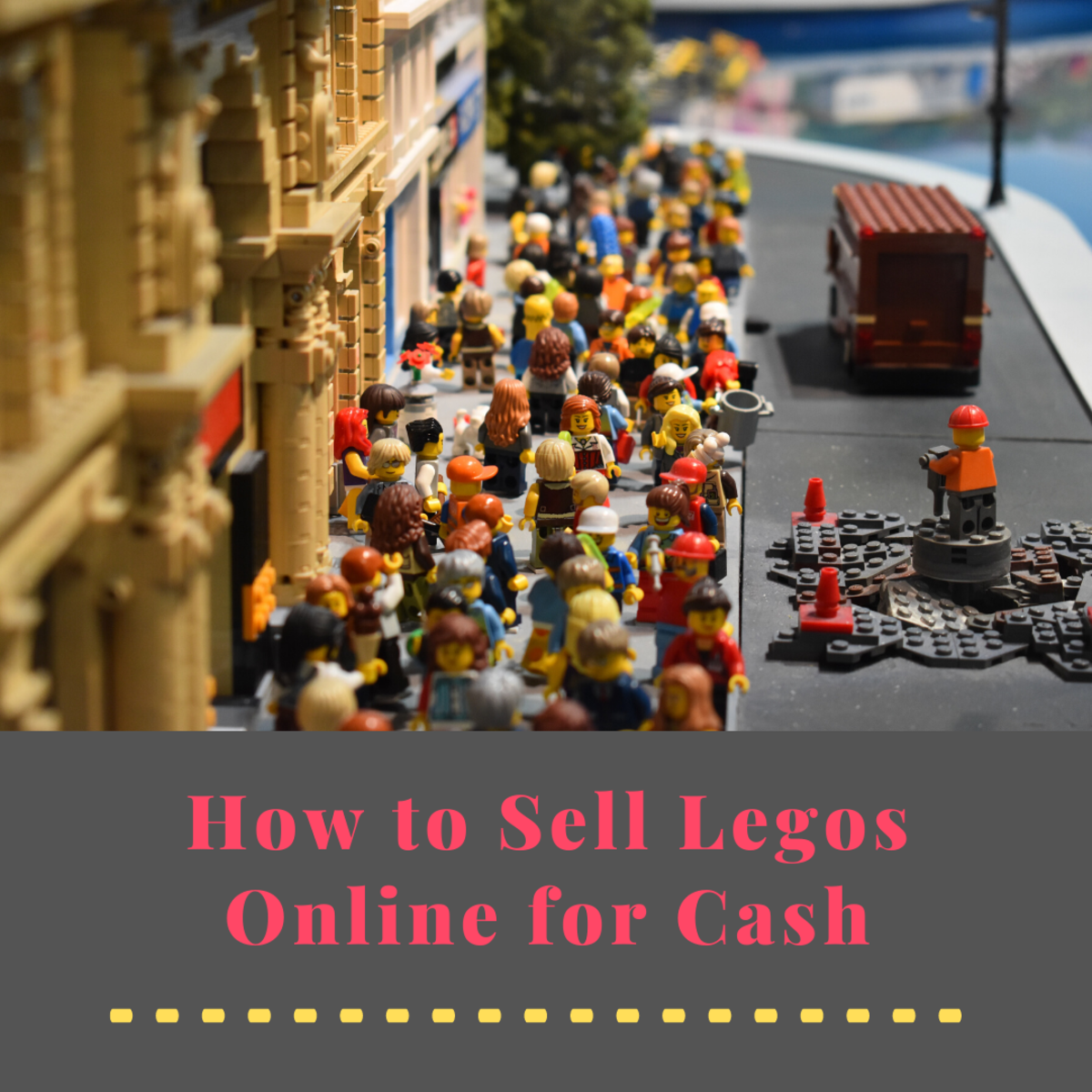 If you learn how to do it right, you can make good money by selling your legos online.