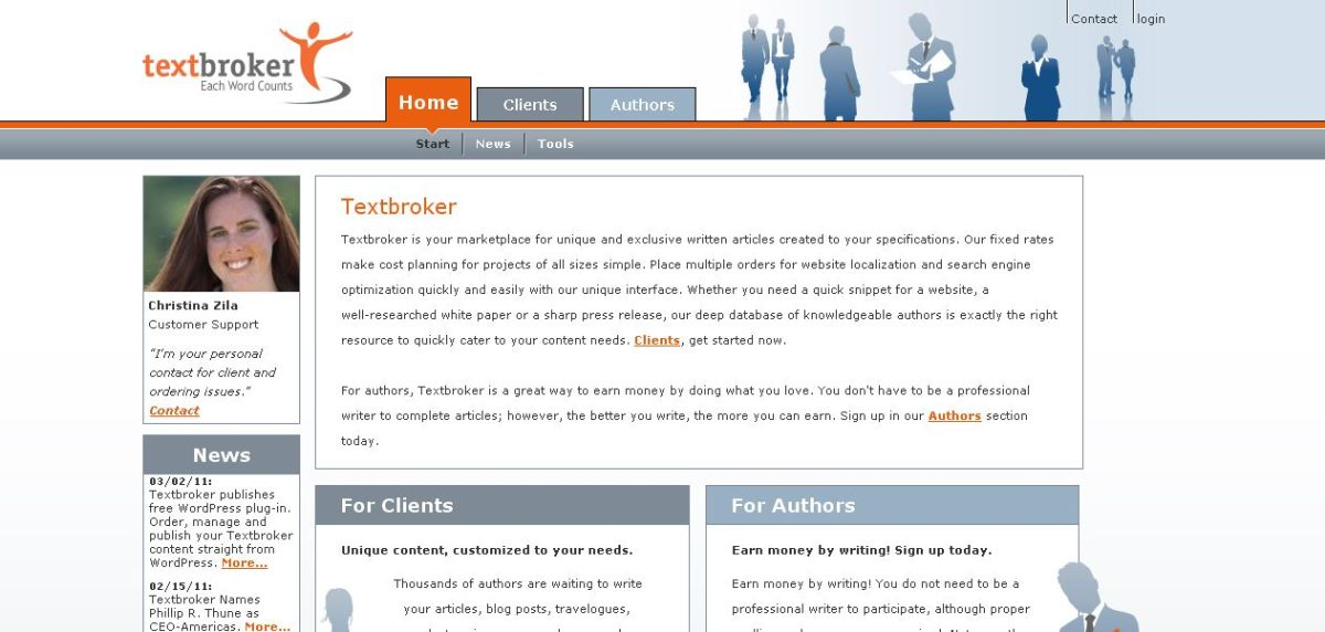 Textbroker vs  iWriter  Best Place For Cheap Freelance Writers ShoutMeLoud Screenshot of dotwriter marketplace