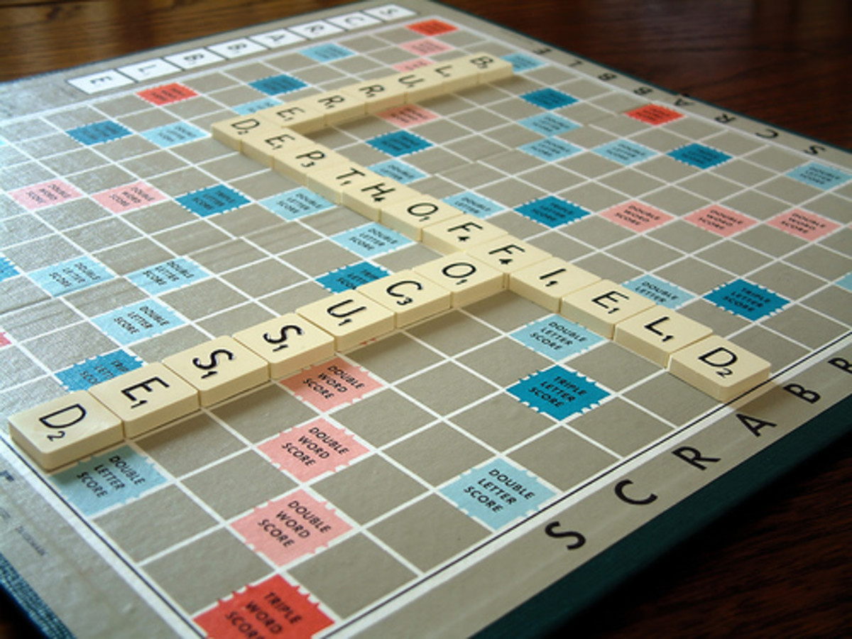Is It Illegal to Play Scrabble While Driving: Scrabble with my Grandma