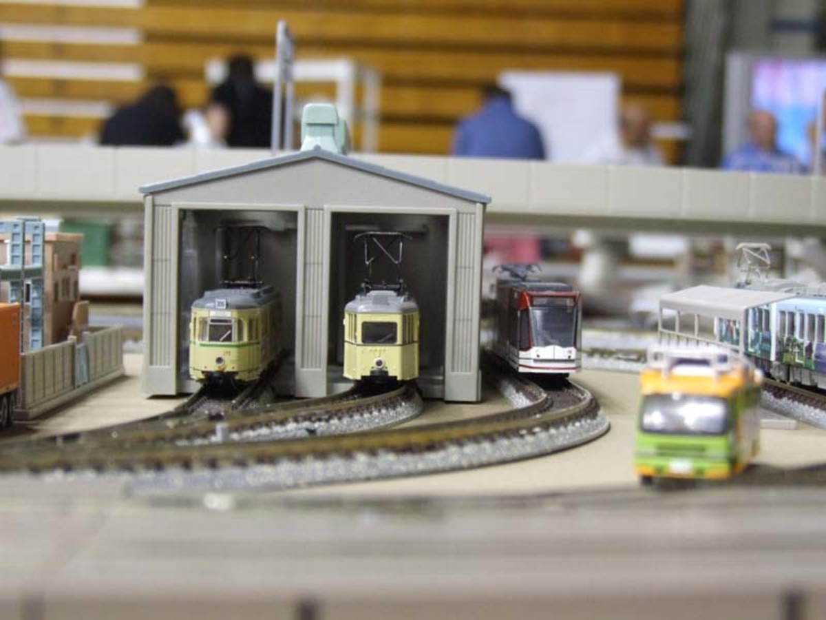 Module at East Penn Trolley Meet.