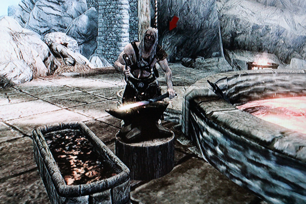 """Skyrim"" Skill Training:  How to Train Smithing"