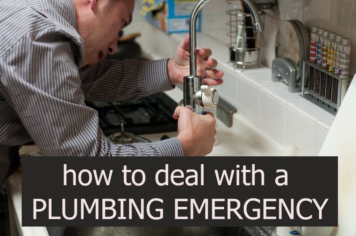 Want to know how to deal with a plumbing emergency? Read my tips below.