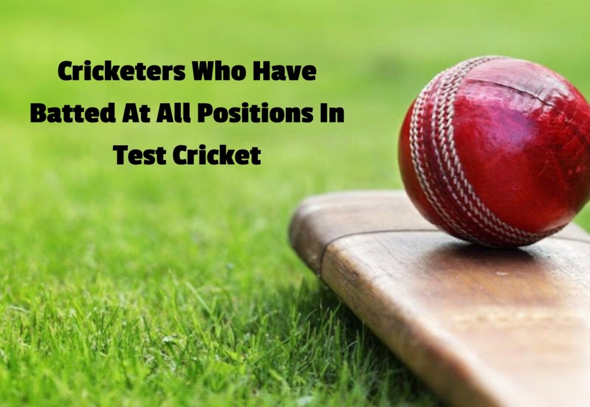 Cricketers Who Have Batted At All Positions In Test Cricket