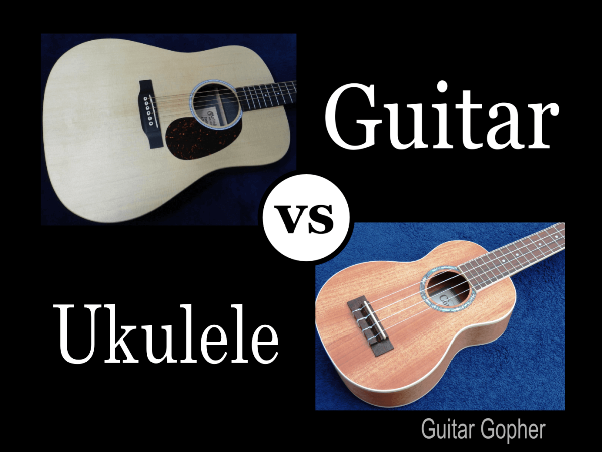 Ukulele vs. Guitar: Difficulty, Difference, and How to Choose