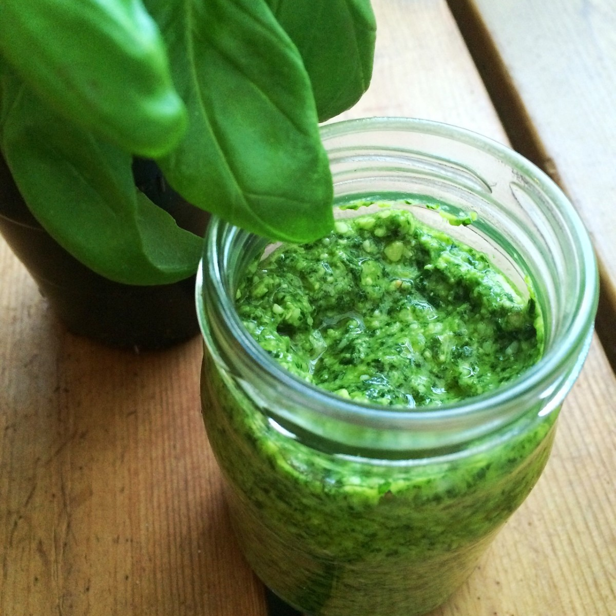 PESTO! How to make your own