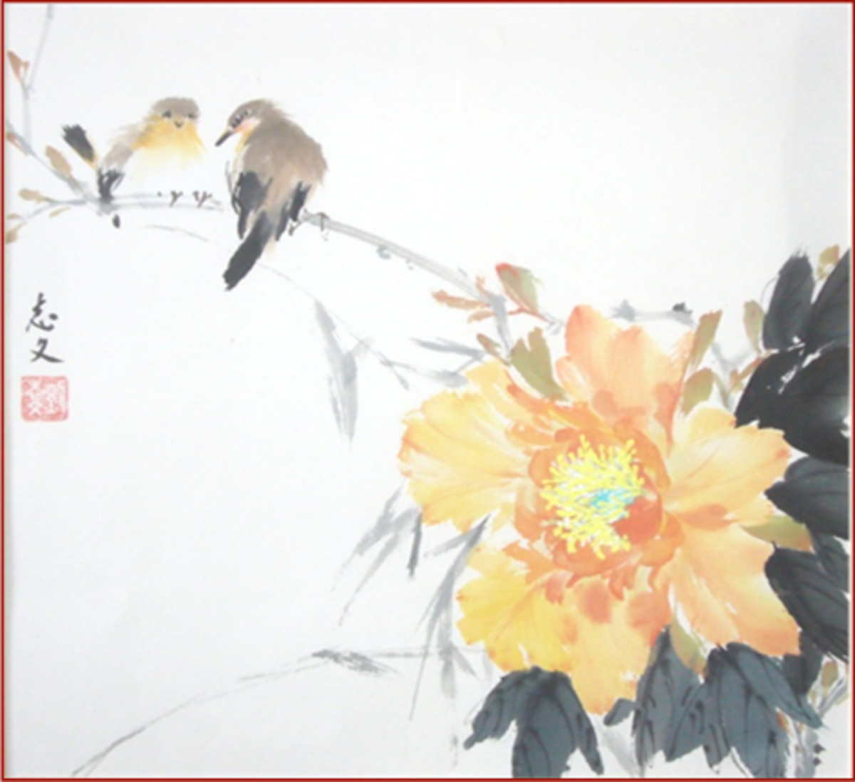 Expressing the Chi With Chinese Brush Painting