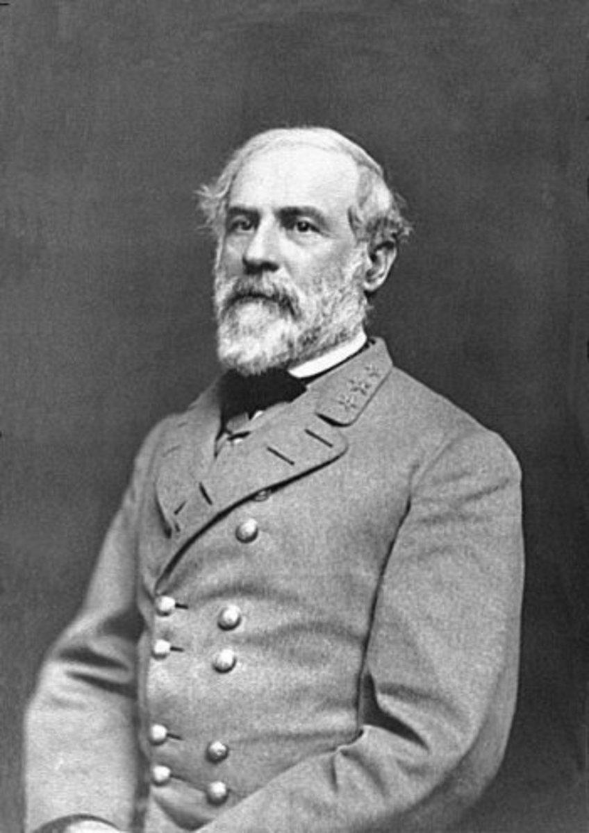 Confederate General Robert E. Lee