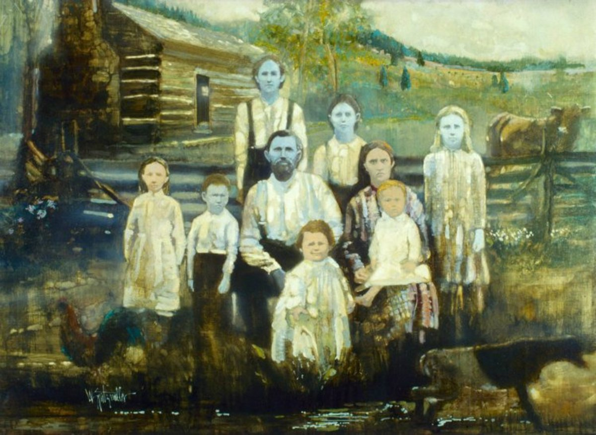 "The ""Blue People of Kentucky"" (The Fugate Family)"