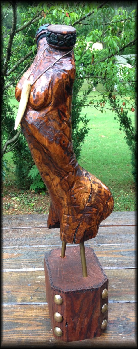 How to Carve Beautiful Wood Sculpture From Fallen Tree Limbs