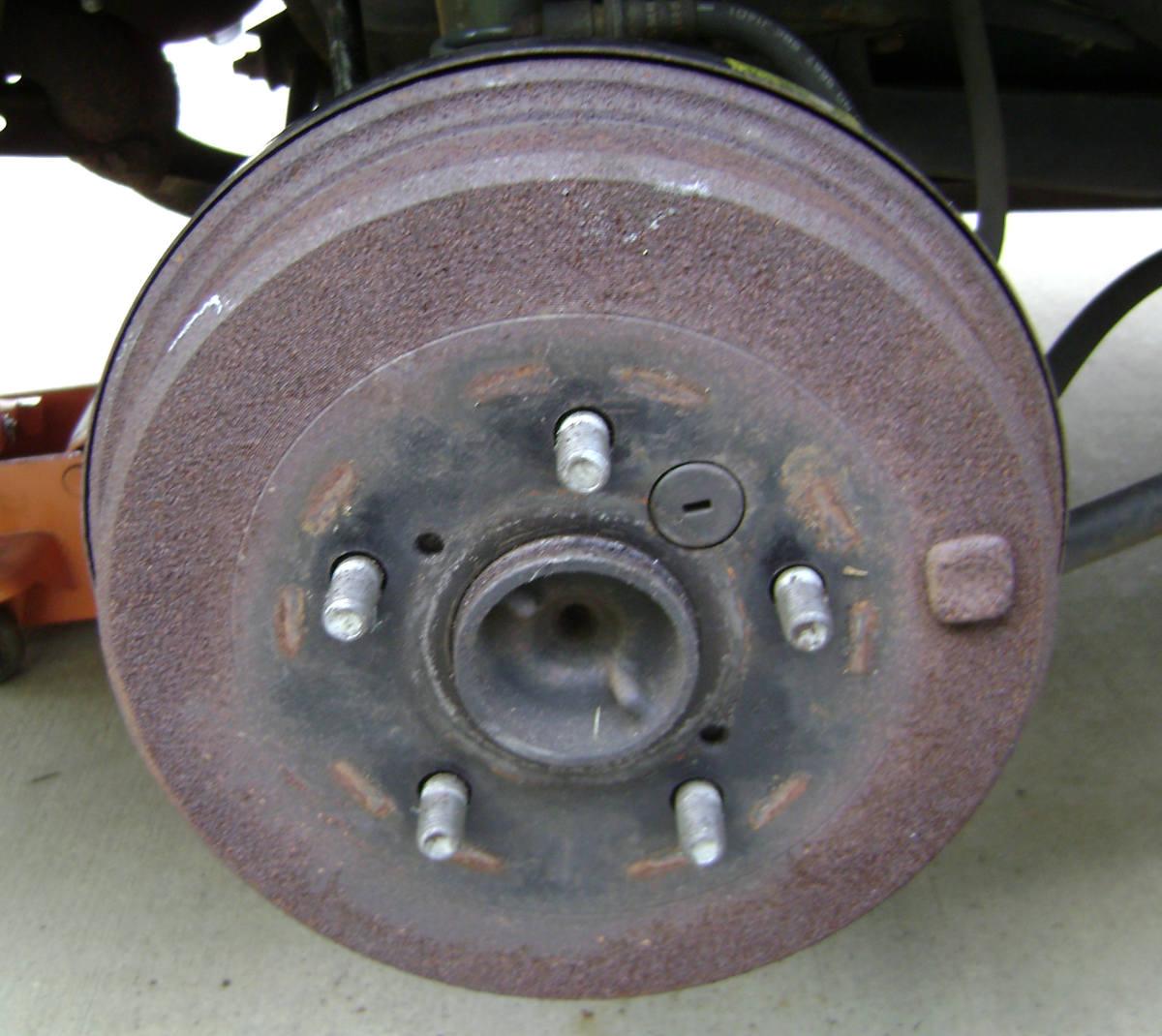 Toyota Camry Rear Brake Shoe Adjustment