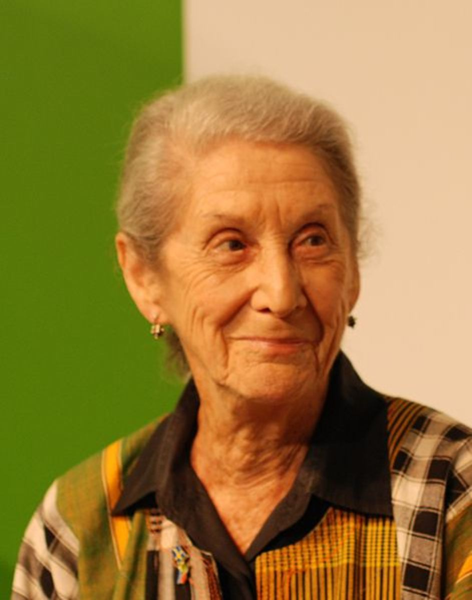 Nadine Gordimer. Author, Country Lovers and other interracial themed fiction.