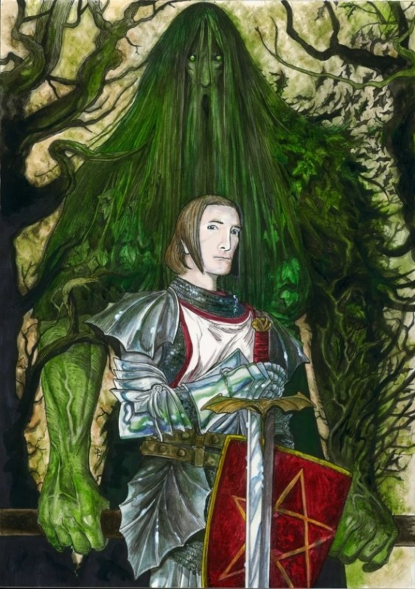 Gawain and the Green Knight has been become a popular legend, retold by many writers and folklorists.
