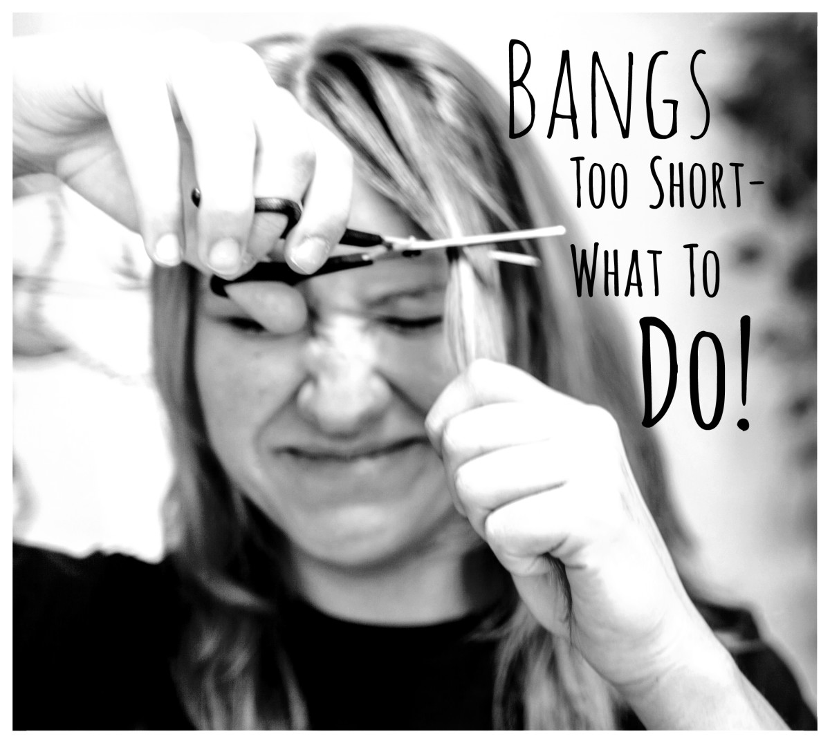 Bangs can be a killer look . . . if they're the right length. If your latest do features too-short bangs, here are six easy (and scissor-free!) fixes.