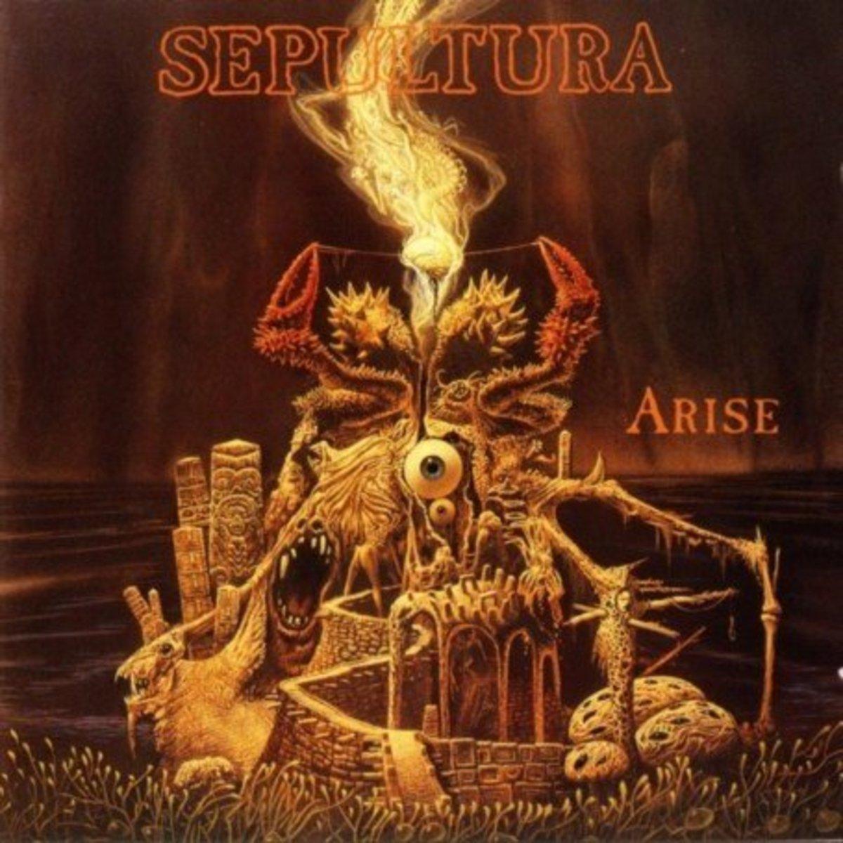 Sepultura, ARISE album cover