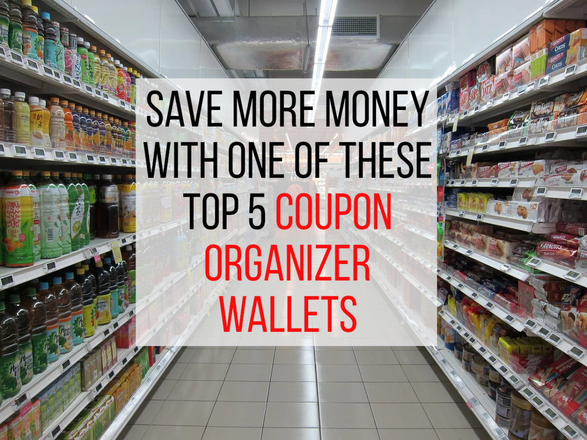 Looking for a great value coupon organizer wallet? See my best 5 selections below.