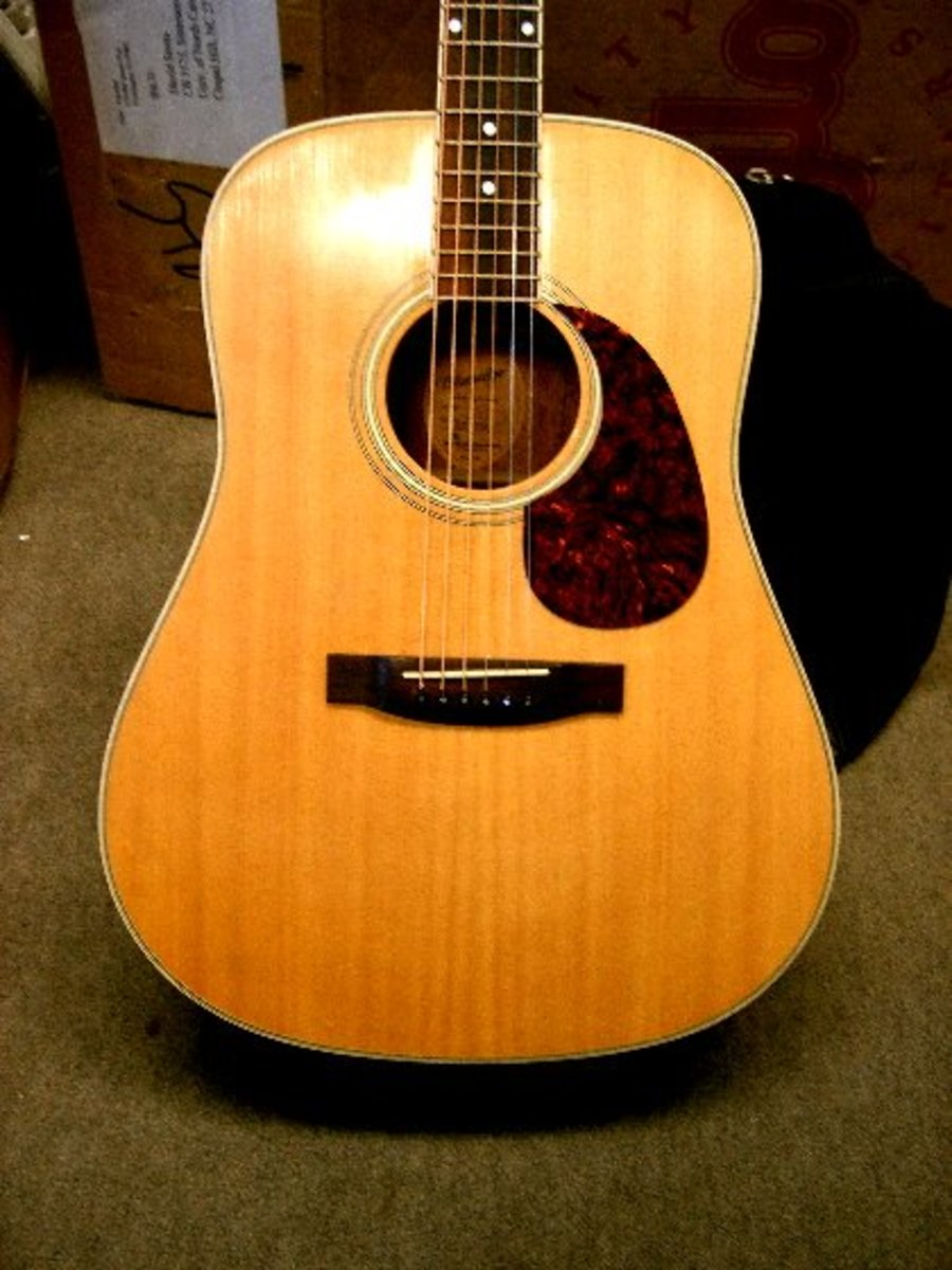 Top Five Dreadnought Acoustic Guitars For Under Hundred Dollars