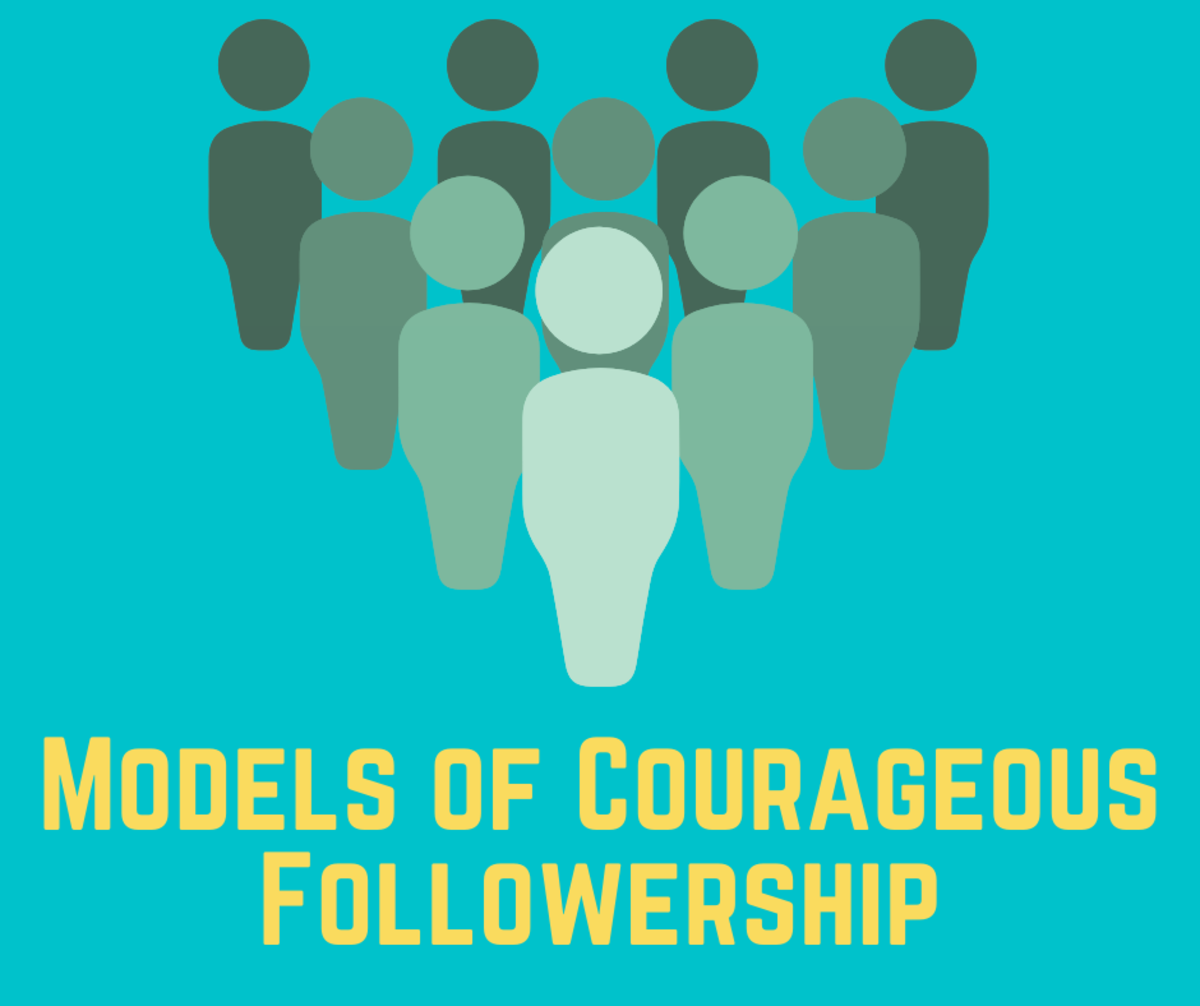 3 Top Models of Courageous Followership