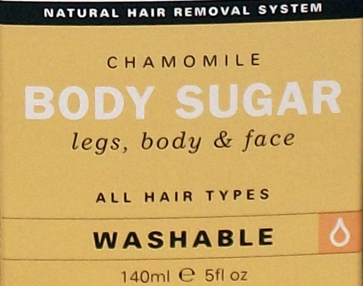 Body Sugar for Legs, Body & Face