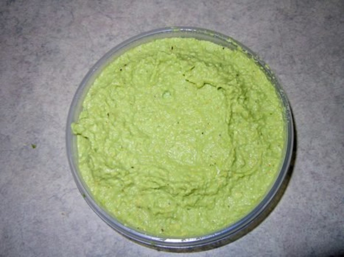 Jalapeno Pepper Paste after the mixture is Puree'd thoroughly.