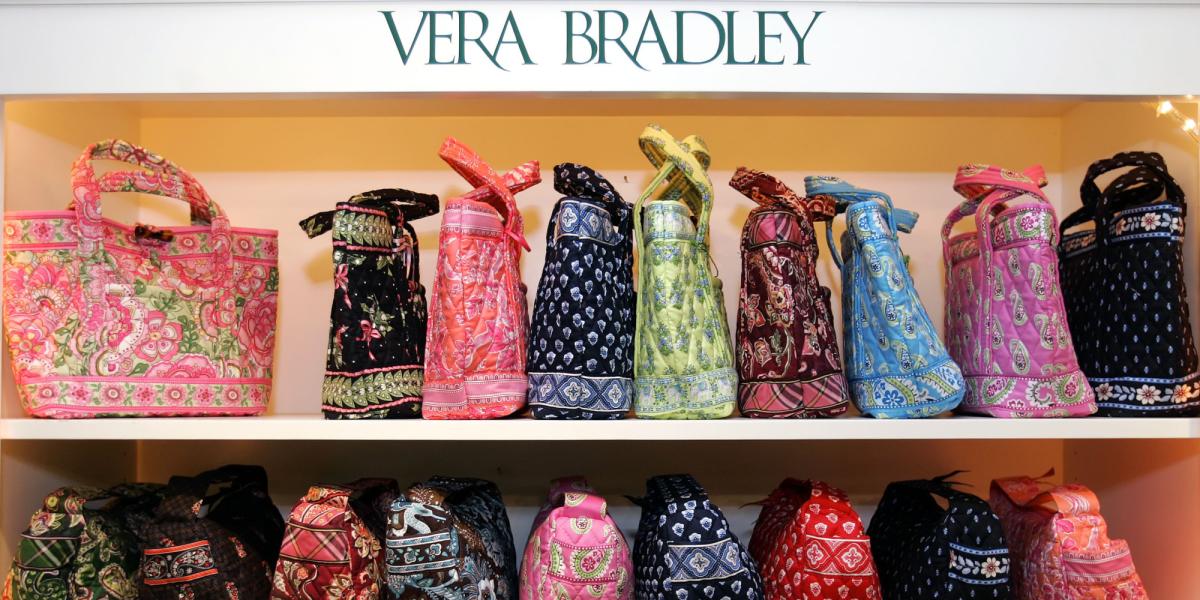 Display of Handbags at a Hallmark Store