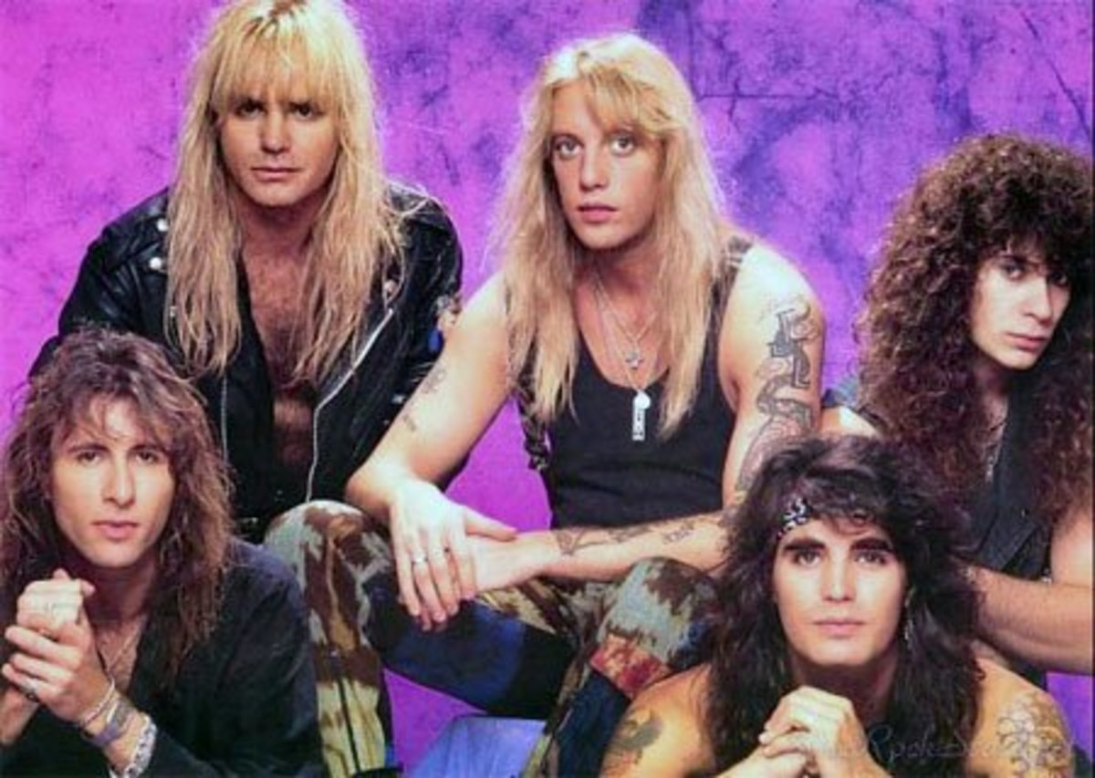 Warrant (Jani Lane: center)