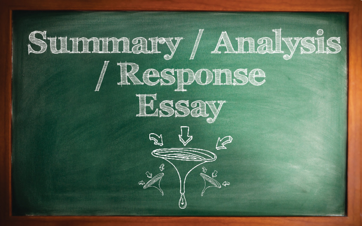 How To Write A Summary Analysis And Response Essay Paper With