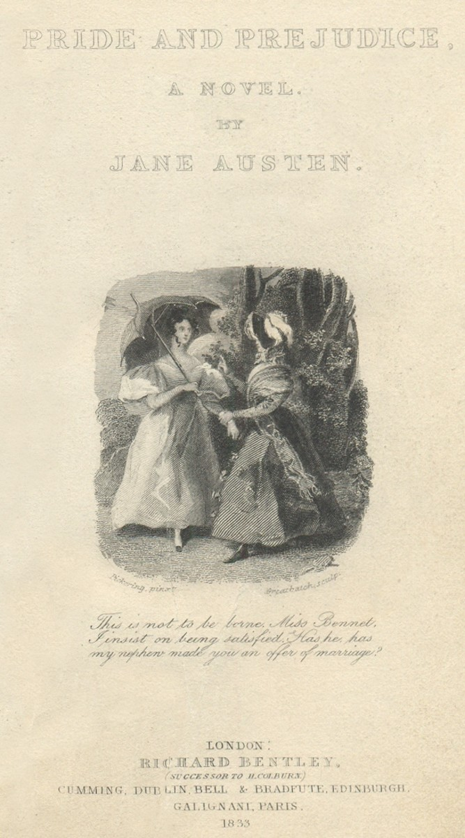 Pride and Prejudice by Jane Austen: A Reflection on Marriage in the 1800s