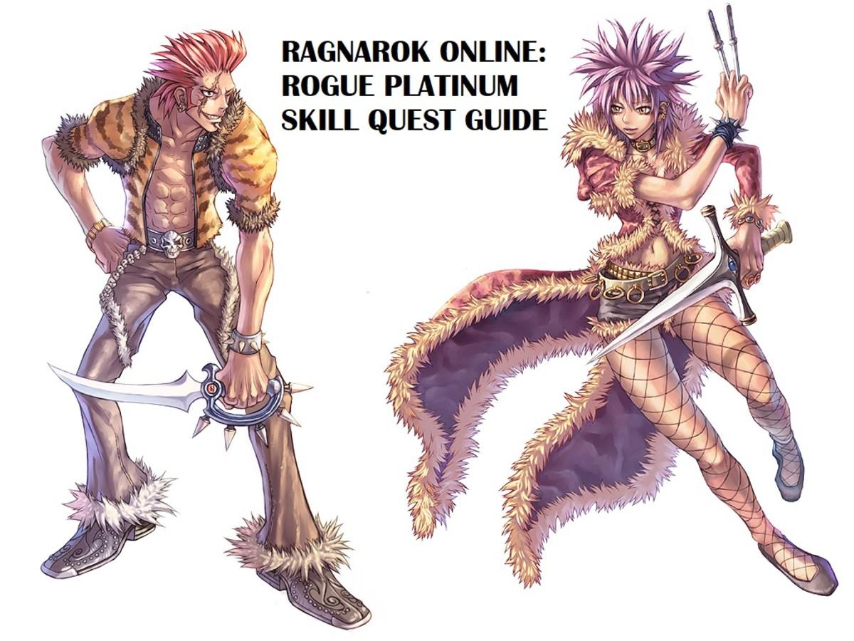 Ragnarok Online Rogue Platinum Skill Quest Guide
