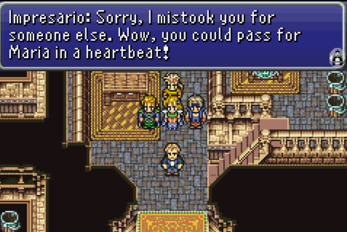 Final Fantasy VI walkthrough, Part Seventeen: Opera House