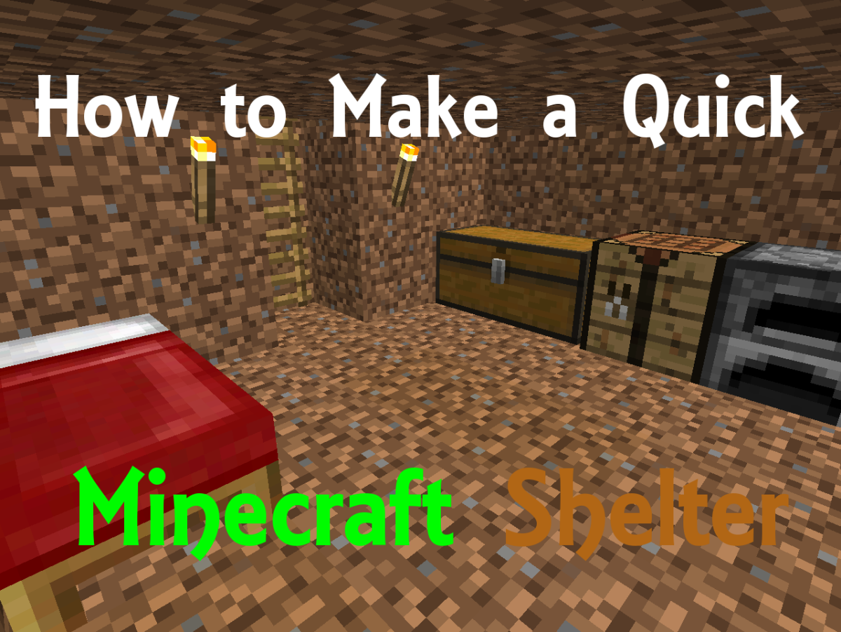 How to Make a Quick Minecraft Shelter
