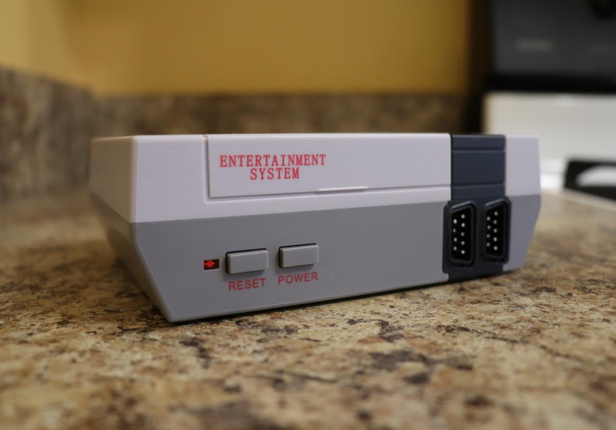 A bootleg Nintendo Classic console.