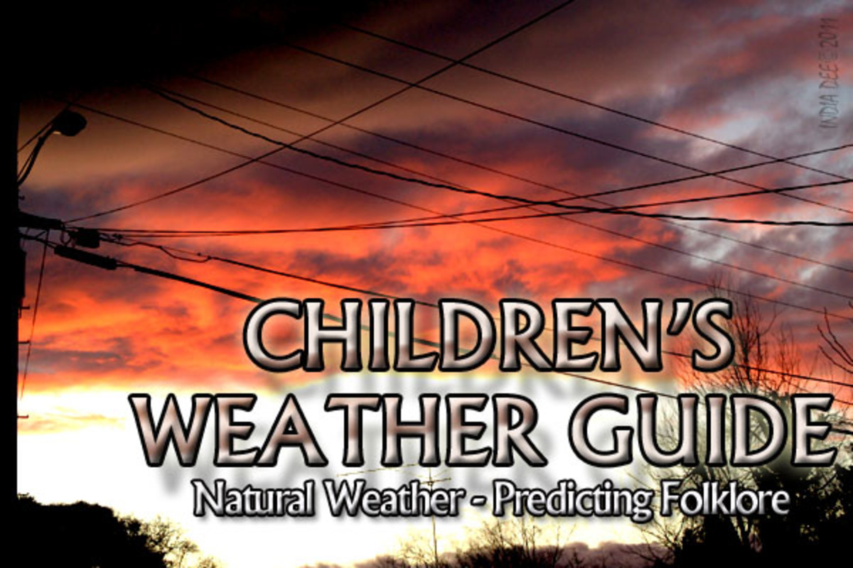 Teaching children what folklore tells us about weather is a great way to be prepared when on the hiking trail or outdoor camping.