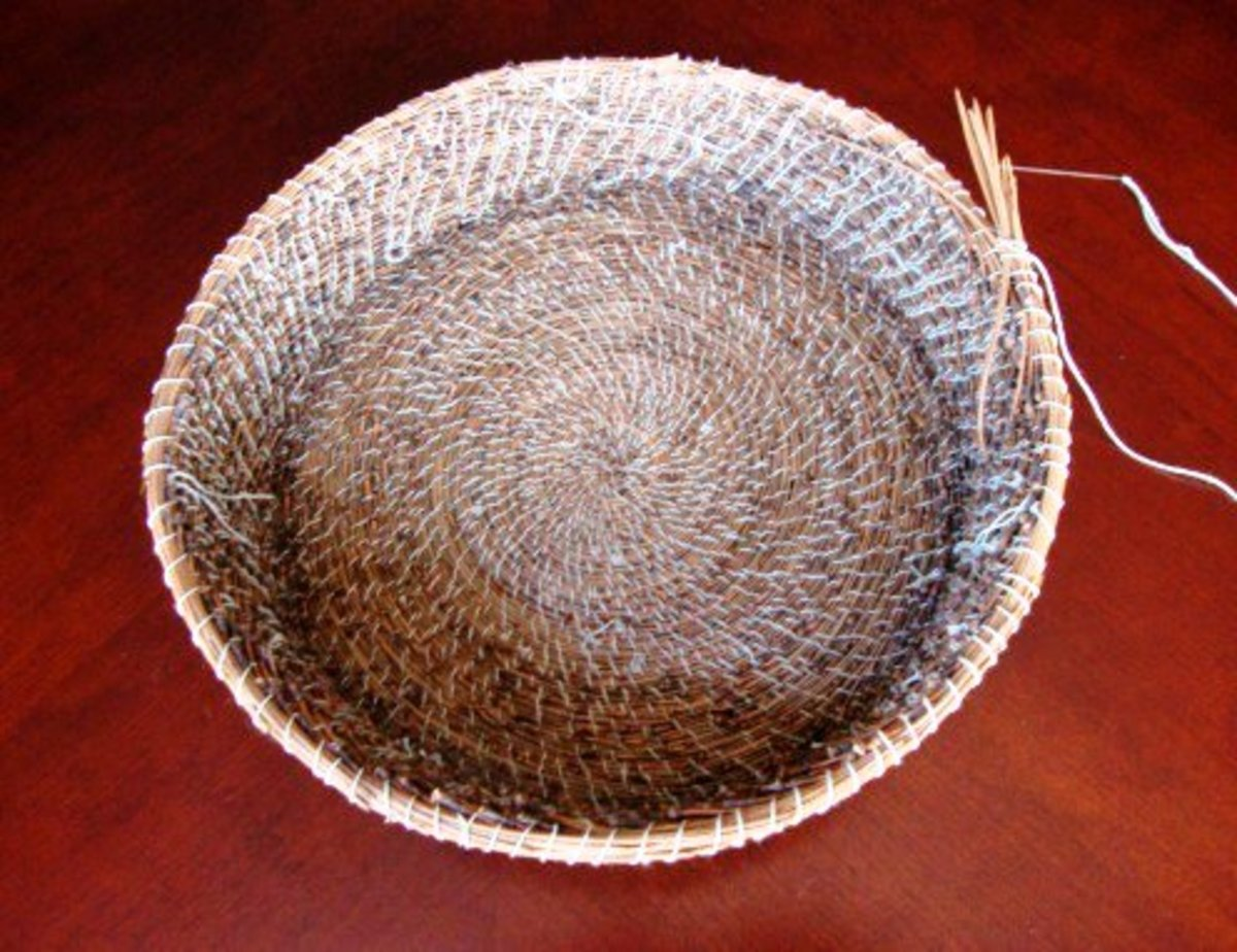 What I Learned While Making My Second Pine Needle Basket