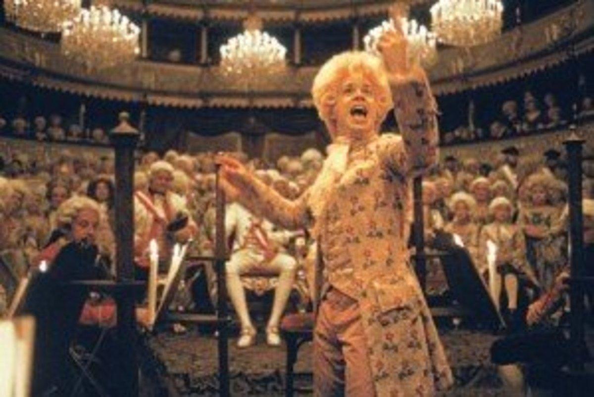 Tom Hulce as Mozart