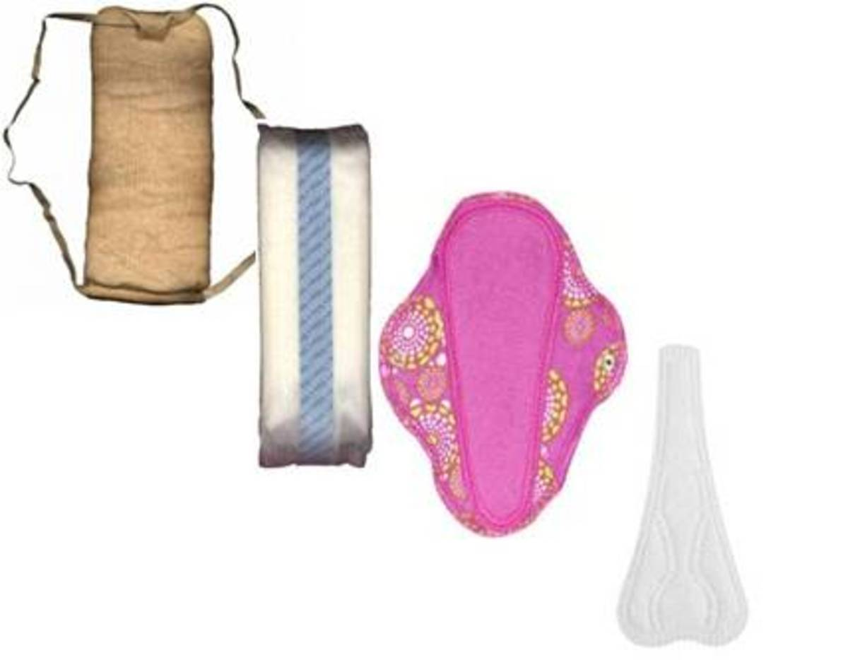 1dc737e7c23fc9 Sanitary Napkins and Menstrual Pads of the Past and Present | Owlcation