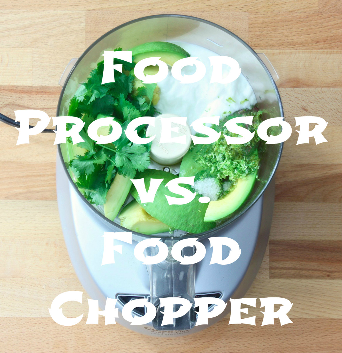Food Processor vs. Food Chopper
