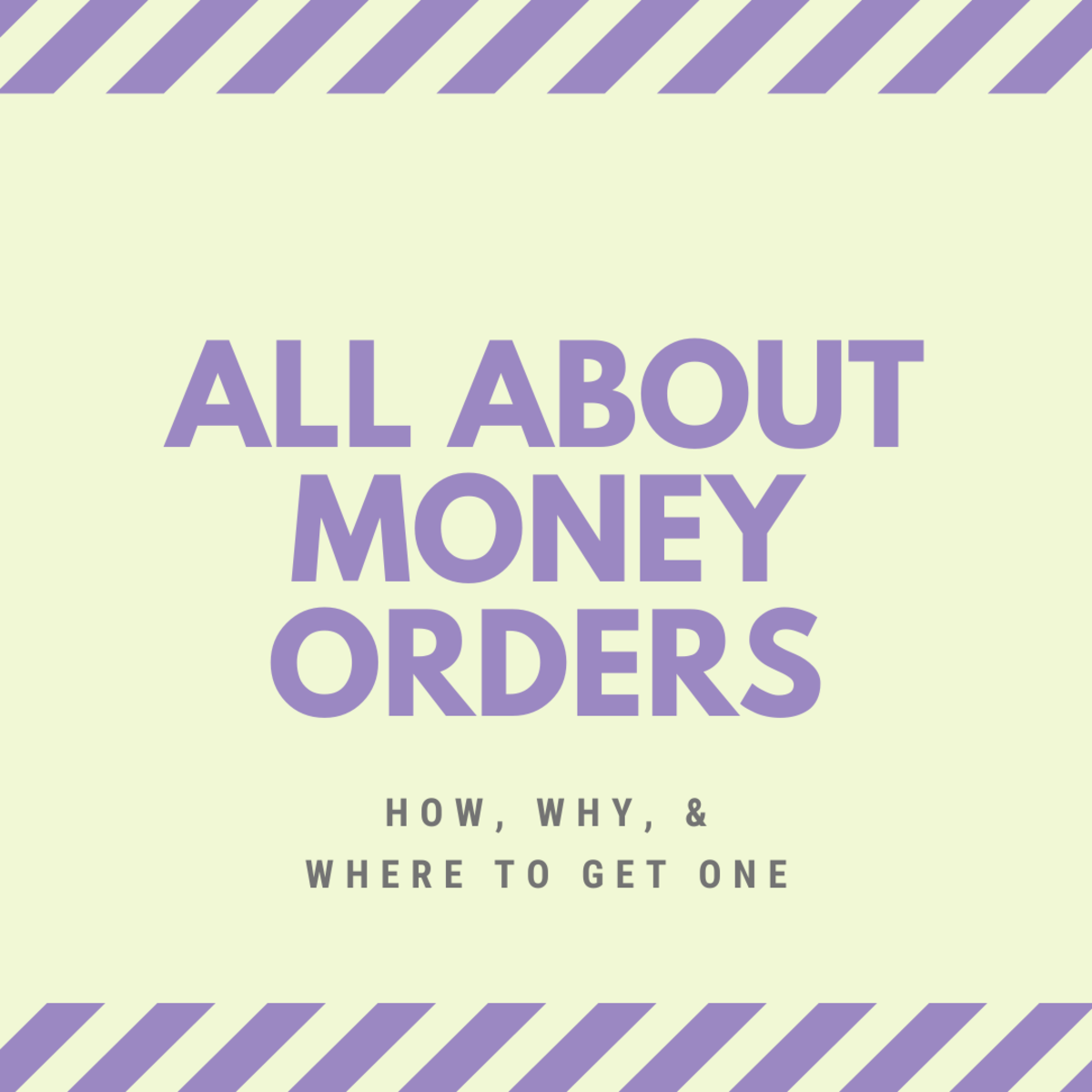 This guide will help you with key facts and information about money orders.