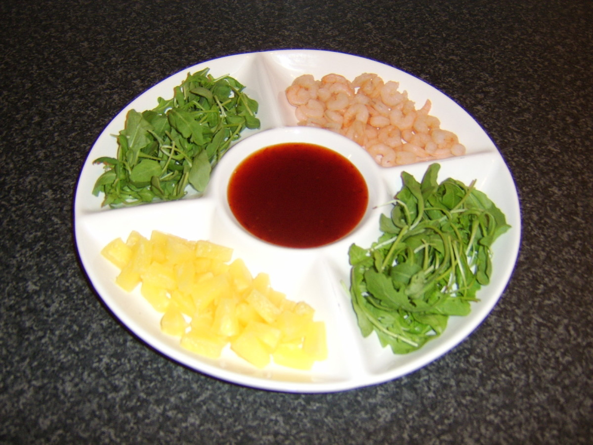 This incredibly simple shrimp and pineapple salad wrap platter is just one of the recipes featured in this article.
