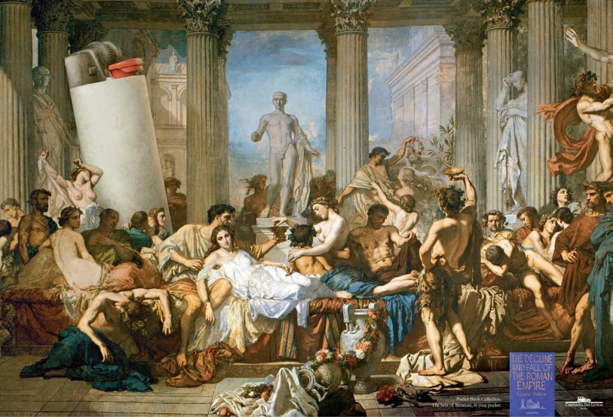 Parallels Between the Decline of the Roman Empire and the Decline of the United States of America