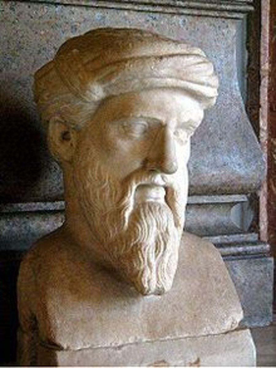PYTHAGORAS () of SAMOS 570 BC - 495 BC