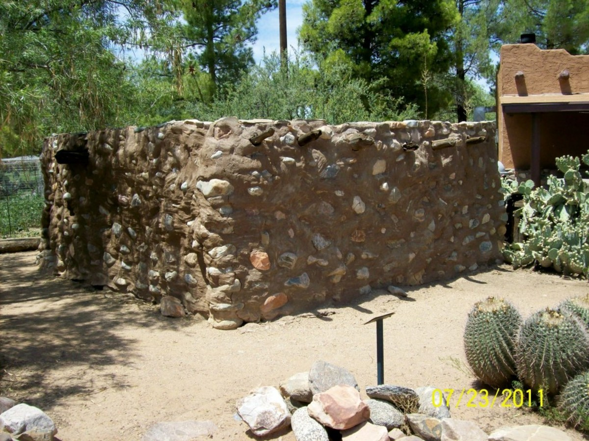 See Pre-Columbian Artifacts in Ancient Besh-Ba-Gowah, Arizona