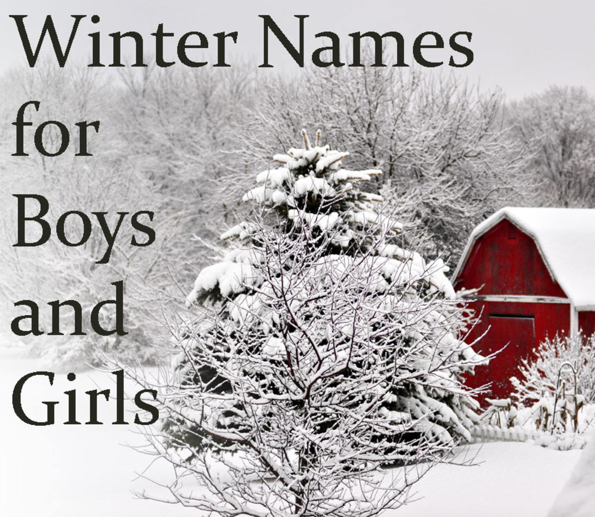 Winter Baby Names Inspired by Cold and Cooler Weather