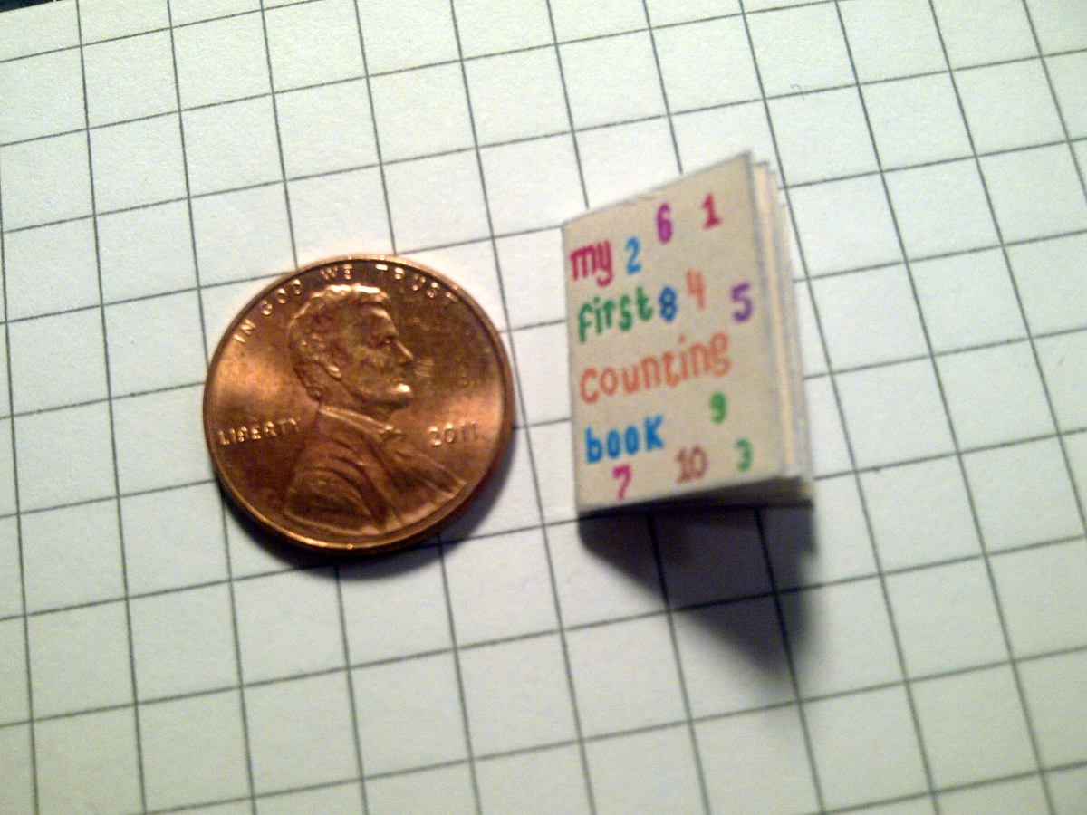 How To Make Your Own Miniature Dollhouse Book