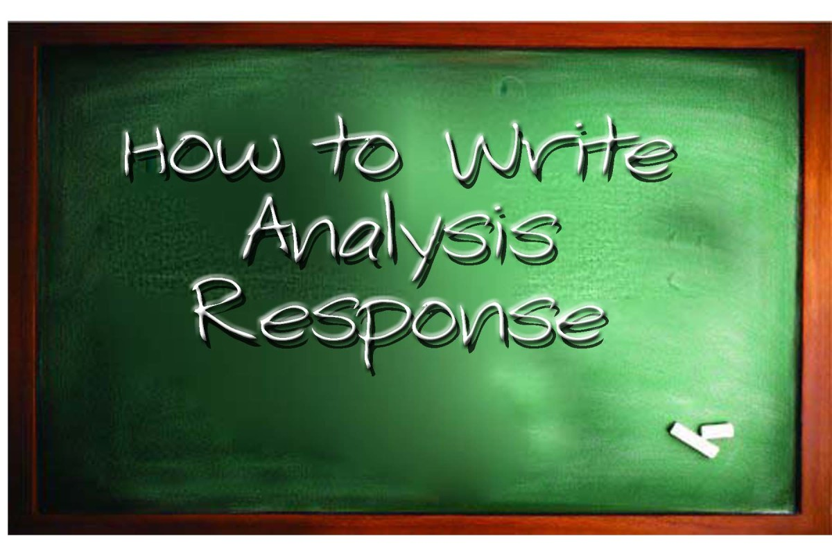 How to Write an Analysis Response Essay