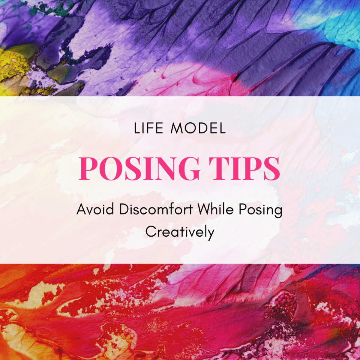 Learn how to pose efficiently for any duration!