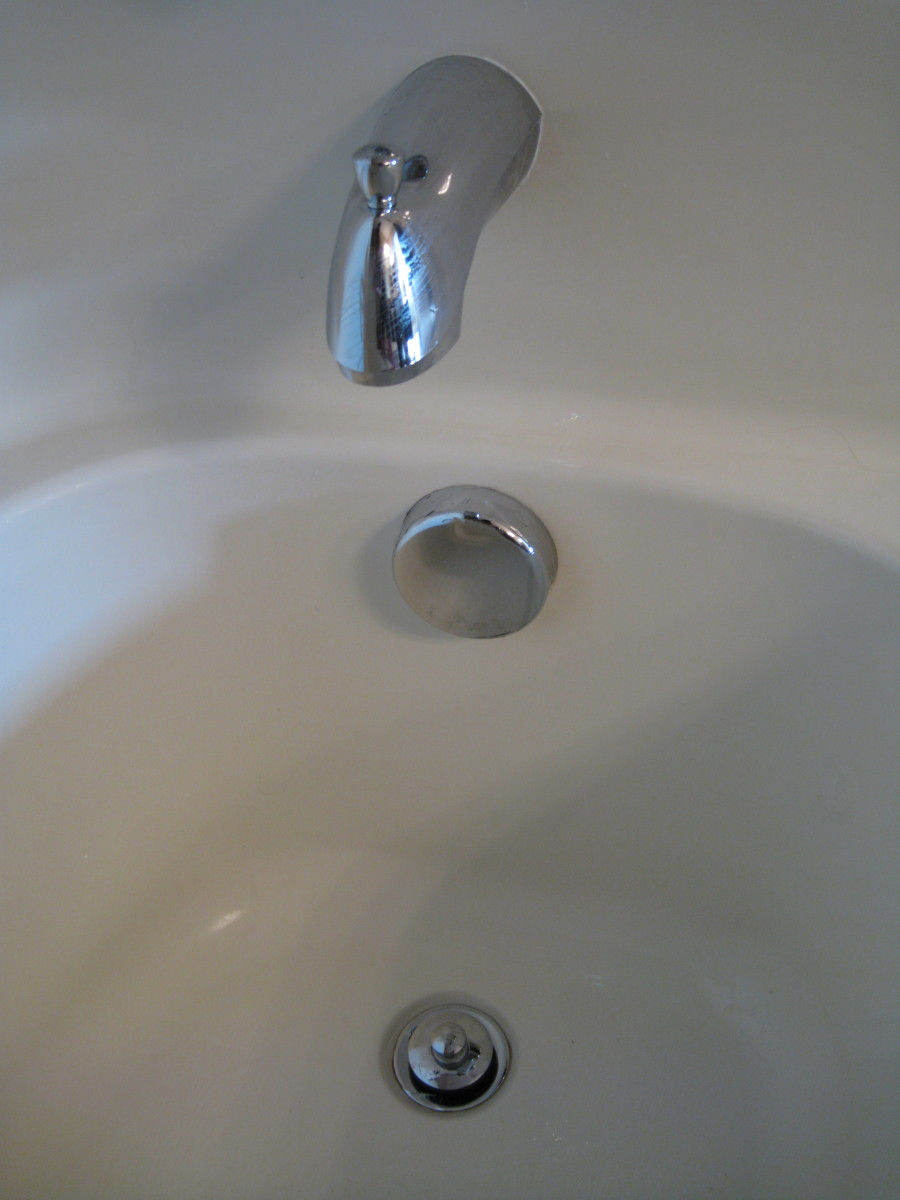 replace broken bathtub drain stopper