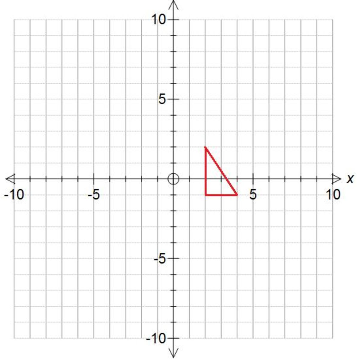 How to translate a shape on a coordinate grid using a vector. Math help.