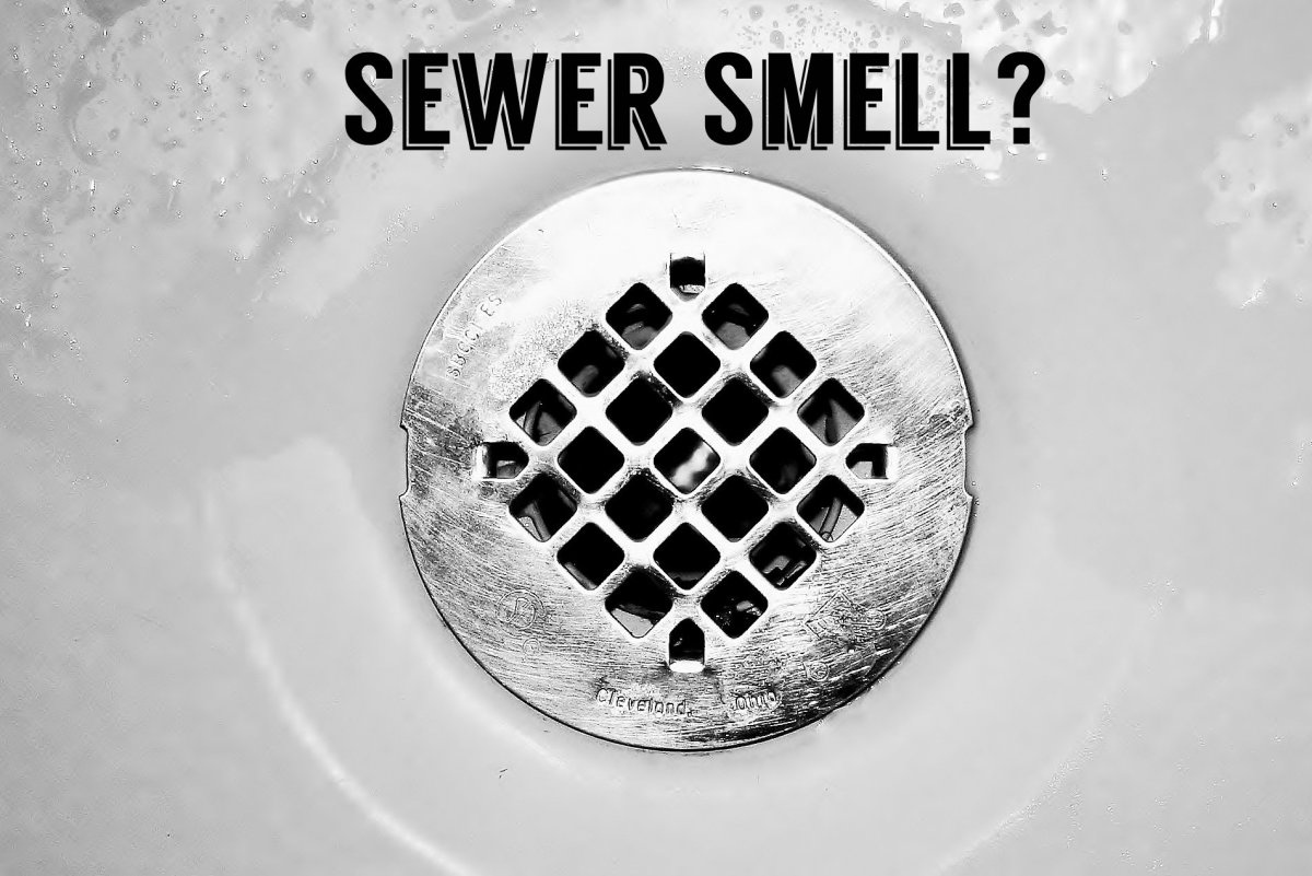 Smell sewer gas in your house try this diy remedy before - Bathroom sink smells like sewage ...