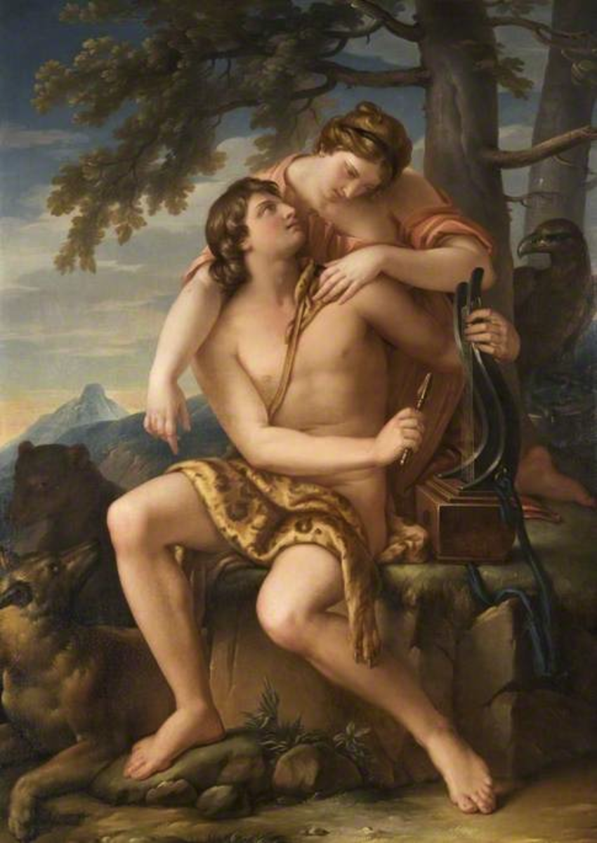 Apollo: Greek Archetype of Favorite Son and Archer