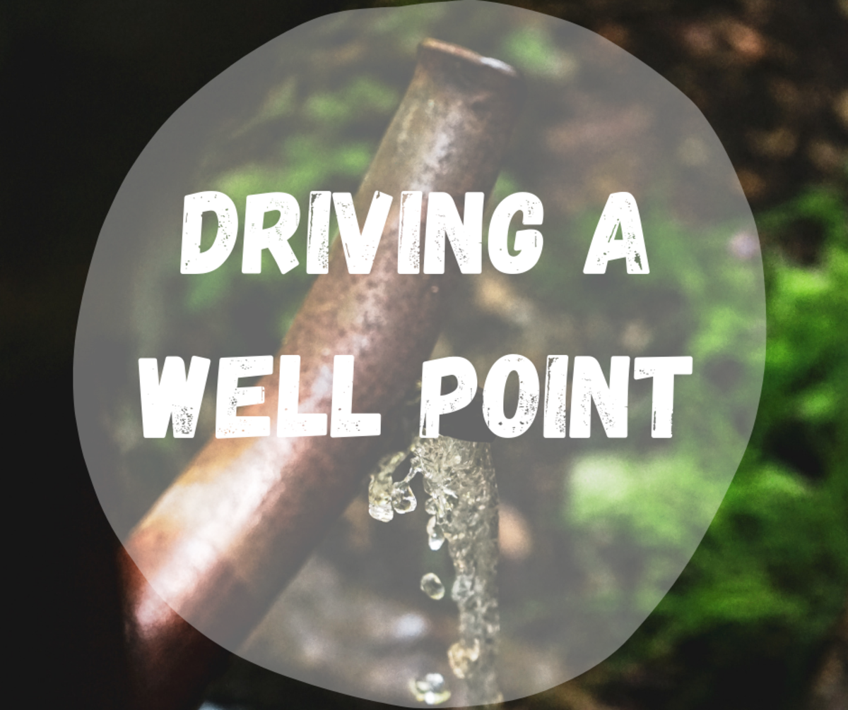 How to Drive a New Well Point